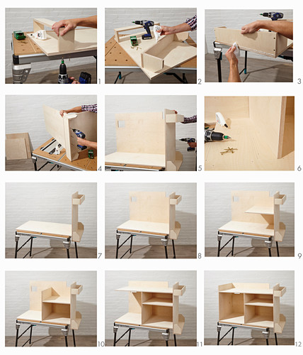 Instructions for building a workshop trolley (part 2)