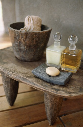 Soap and bath oils