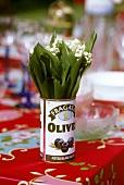 Maiglöckchen in Olivendose