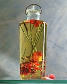 Rose and lavender perfumed oil