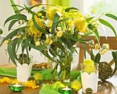 Eucalyptus und Protea Nutans