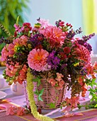 Dahlia, Phlox, snapdragon, Amaranthus and Aster