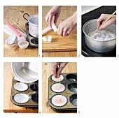 Making cupcake candles