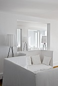 Sitting area in Hotel Casa Angelina (Praiano, Italy)