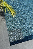 Swimming pool with mosaic floor (Villa Nalu, Southern France)