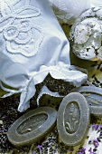 Lavender soap and scented bags