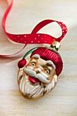 Weihnachtsmann als Christbaumanhänger