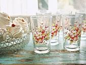 Glasses and meringues