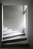 Ausschnitt eines Treppenaufgangs