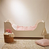 A child's bed