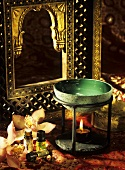 Aroma lamp and various aromatic oils