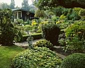 Englischer Garten im Sommer