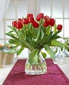 Tulpenstrauss mit Tulpen der Sorte Merry Christmas