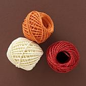 Cord in autumn colours
