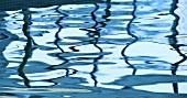 Water in swimming pool (full-frame)