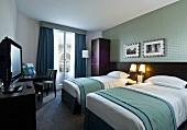 Hotel room in Paris, France