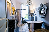 Bathroom in Château de la Verrerie (France)