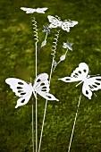 Garden decorations - butterflies