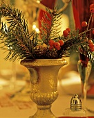 Christmas Decoration in Small Vase