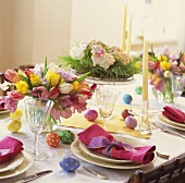 Festive Easter Dinner Table