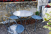 Outdoor Table and Chairs; Autumn in France