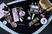 A woman's cosmetics