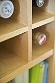 Wine rack built in modern kitchen units