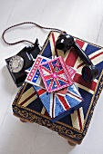 Union Jack motif tea cosy