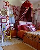 Romantisch orientalischer Jugendschlafraum