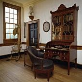 Antikes Büro für die Hauswirtschaft