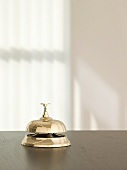 Service bell in a hotel