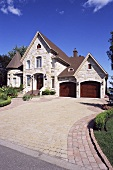 A house with a driveway