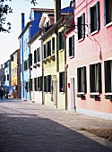 Colouful houses in Burano