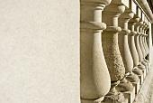 A stone balustrade