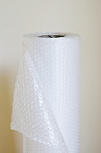 A roll of bubble wrap