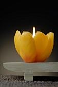 Tulpenförmige Kerze