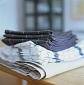 Tablecloths and tea towels