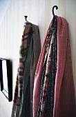 Coat hooks in Swedish house