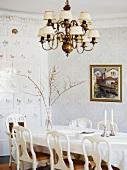 Dining room in a mansion (Sweden)