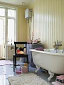Retro-style bathroom