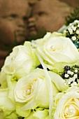 White wedding bouquet (detail)