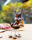 Autumnal ornament made from natural materials