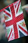 A patchwork Union Jack