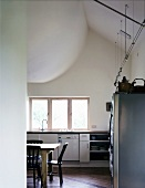 View of a functional kitchen