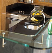Moderne Miniküche