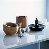 Elegant designer mortars made of a variety of high quality materials