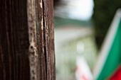 Wooden beam (close-up)