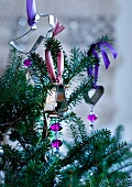 Plätzchenausstecher als Weihnachtsbaumanhänger