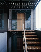 Stairwell with lift