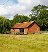 Rustic house with tiled roof